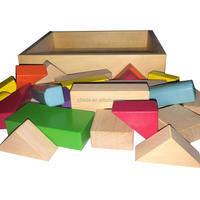 High Quality Colorful Wooden Building Blocks