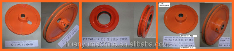 OEM aluminum V-belt Pulley
