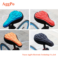 Mountain Bike Seat Saddle Cover 3d Memory Sponge Saddle No-slide Air-permeable Bike Seat Pad,Bicycle Saddle Cushion 07