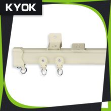 Aluminum alloy window hardware curtain track runners and hooks