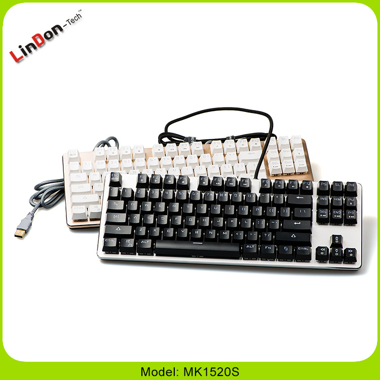 Fashion Hot selling Gaming Mechanical Keybaord for Computer Laptop pc MK1520s