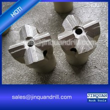 Tungsten carbide Threaded cross bit for mining and rocking