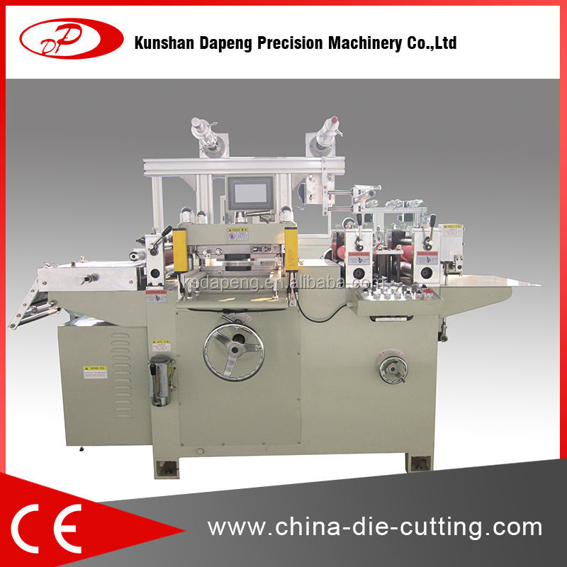 Mobile Phone Use roll screen protector die cutting machine dp320b