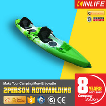 Retomolded Plastic Fishing Kayak for Two Person