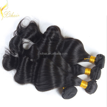 Wholesale price for 2Pcs/Lot Grade 7A Indain Virgin Hair Body Wave 100% Indinan Human Hair Weaves Wavy
