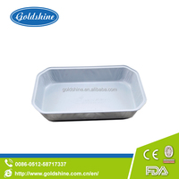 airline fast food disposable aluminum foil tray
