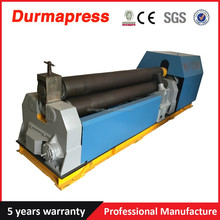 W11-6x1500 3-roller iron sheet bend rolling machine with good performance