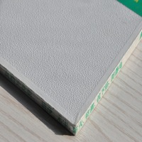 hot sale fireproof clear plastic pvc laminated gypsum wall panel