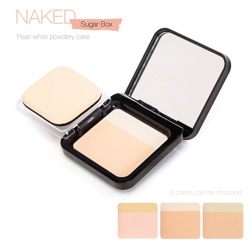 Professional natural press powder best foundation for oily skin/foundation face powder