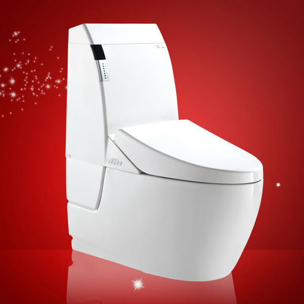 Sanitary Ware hidden camera one piece Toilet on line shopping Washdown Toilet (One-Piece Toilet)
