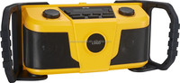 12-Volt Max Lithium-Ion Compact AM/FM Radio with MP3 Player Connection Bay