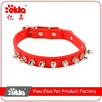 New selling rivet inlay personalized adjustable pet collar for dog