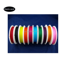 factory directly sell colorful thin elastic string cord for bracelet