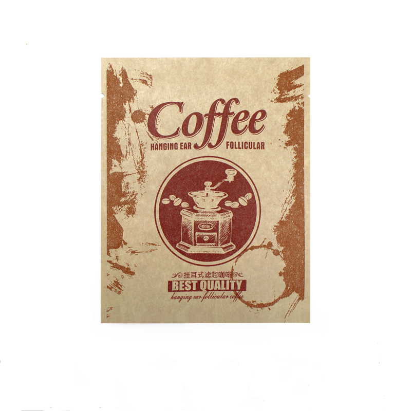 Wholesale high quality drip filter kraft coffee bag