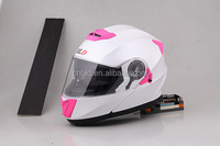 New type motorcycle helmet with inner sun visor Flip up helmet BLD-160