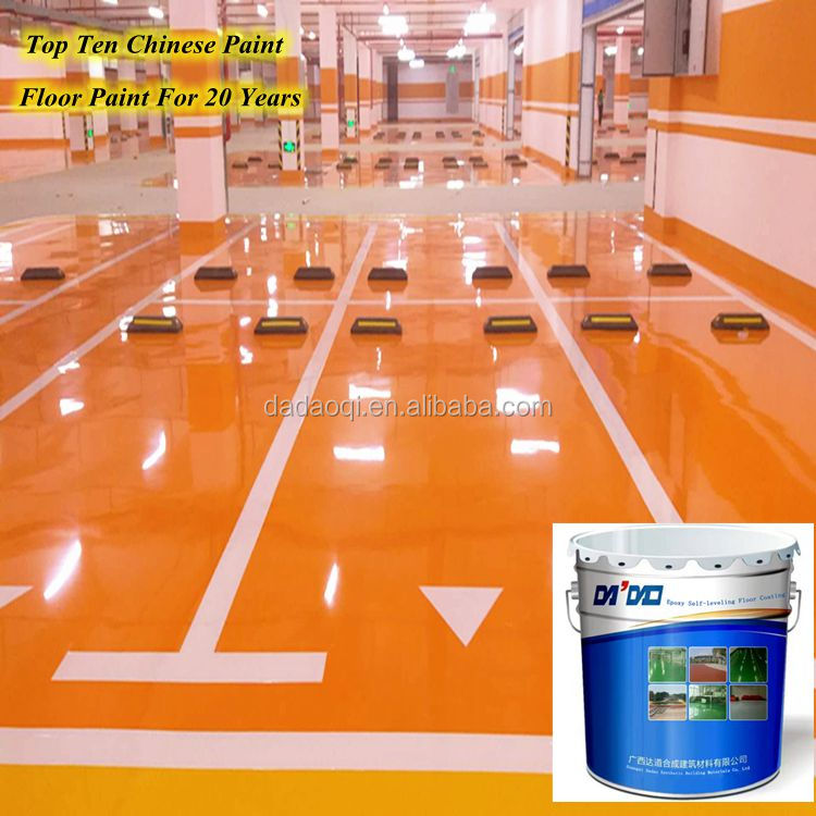Chemical Resistant Self Leveling Epoxy Flooring for Medicine Factory Garage Floor Coating