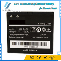 3.7V 1500mAh Replacement Battery for Huawei U9000 Battery