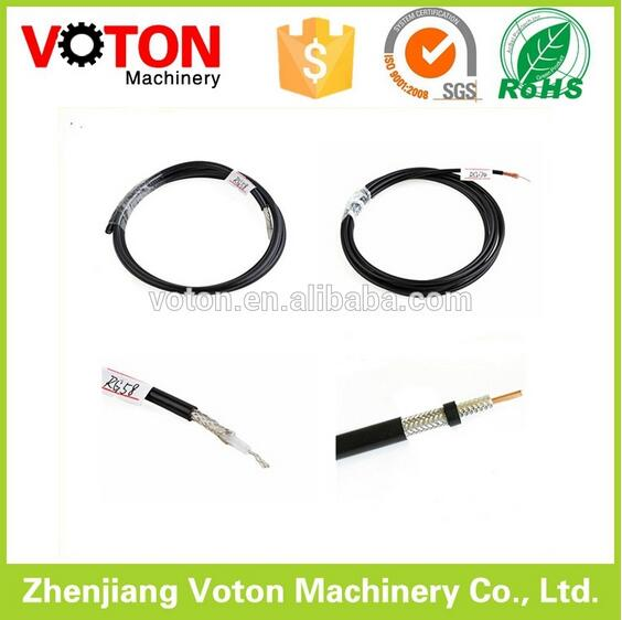 RG174 telephone jumper custom cable 1 5/8 rf connector factoty coaxial cable