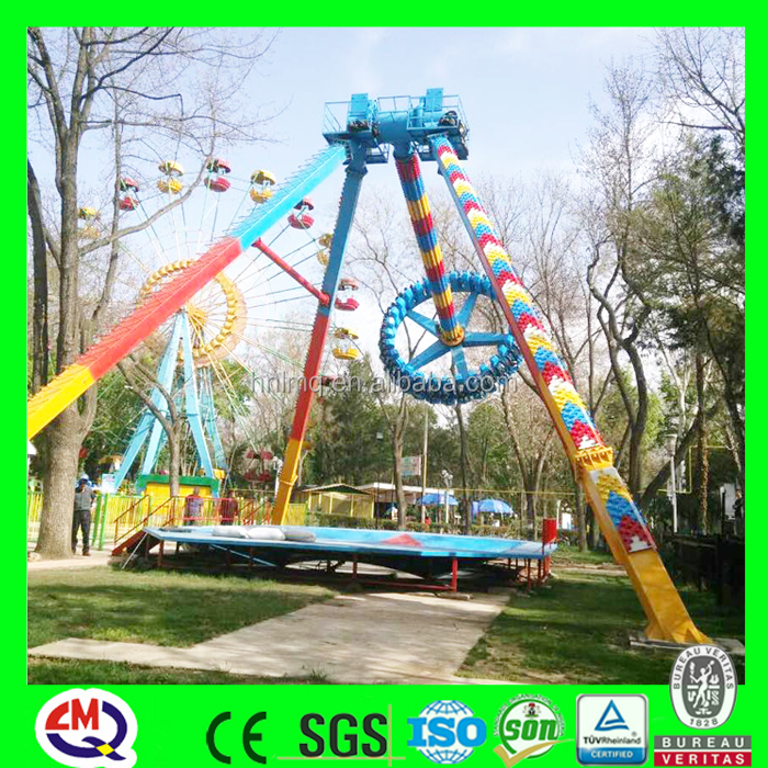 Popular extreme amusement park rides big pendulum bob for sale