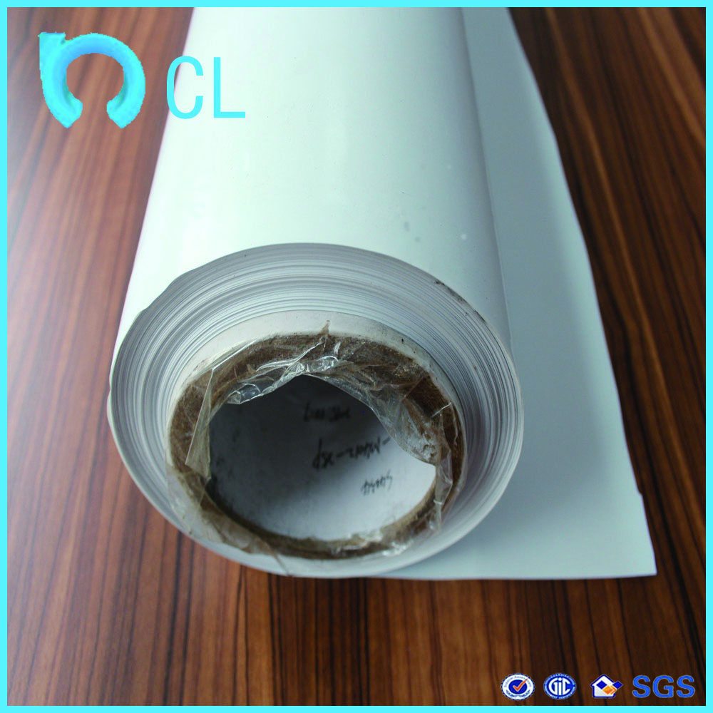 manufacturor wholesale high quality white solid printing opaque PE protective film