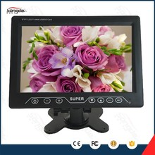 Small New tft led car 9 inch lcd monitor mini smart led tv