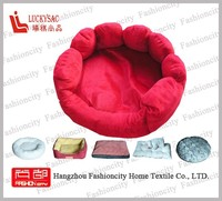 paw shape pet bed and cushions for dogs