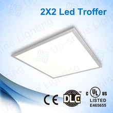 40W 50W ultra slim 10mm 2x2 603x603mm flat panel led lighting (5 years warranty) CE, RoHS,UL DLC approved