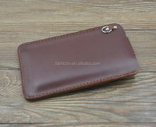 OEM blank leather phone cases/Sublimation Leather Flip Cover for BlackBerry Case