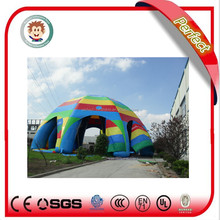 Professional manufacturer inflatable camping tent, inflatable spider tent