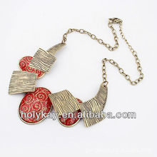 new necklace! ethnic customs decorate necklace colors for choose