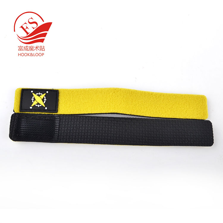 Flexible 20*150mm neoprene fishing rod cover sleeve with rubber patch custom