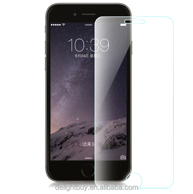 screen protector for iPhone 5/5s 9H 2.5D Tempered Glass Screen Protector for iPhone 6s, for iPhone 6,for iPhone 6 plus