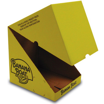 retail shop folding carton retail packaging, custom retail shelf packaging, custom shelf ready packaging