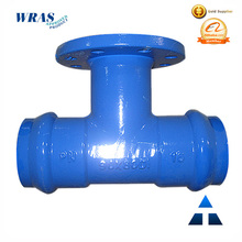 TAWIL Ductile Iron Socket/flange Tee with Fusion Bonded Epoxy Coating