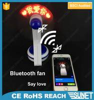 Electronics custom program bluetooth noiseless table fan