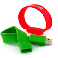 Gift Pendrive Disk 8gb Cheap Bracelet Usb Flash Drive memory silicon usb memory