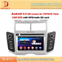 Special car 2 din DVD for Toyota Yaris with andriod