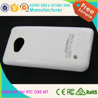 Portable mobile phone charger for htc one M7, External battery backup mobile power bank for htc one