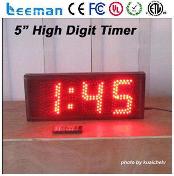 remote control gym led interval timer led wall digital countdown timer 7 segment digital clock display