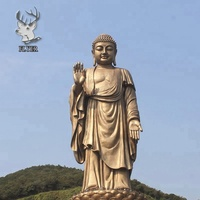 Famous Buddha large antique bronze Buddha statue for sale