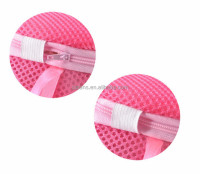 Safty home tools Pink washing bagLingerie Delicates Mesh Laundry bag/mesh washing bag