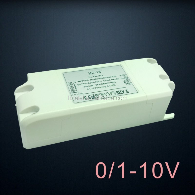 hot sell 240ma 280ma 300ma 350ma 700ma constant current LED 0-10v dc power supply