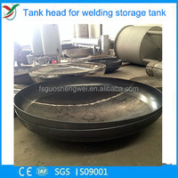 Carbon Steel Elliptical Dished Head for welding storage tank