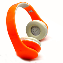 Alibaba hot selling colorful big cheap custom headphone for promotion