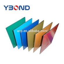 high bright colored decorative wall ACP/ACM aluminum composite panels