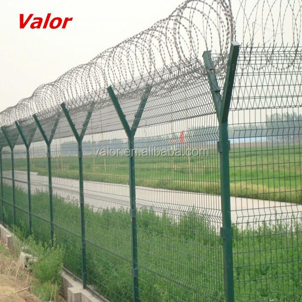 Valor supplied cheap aiport fence/ electric fence plastic pole