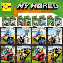 Minecrafted Steve AlexAction Figures Toys Compatible With LegoINGlys Bricks Building Blocks Set Model Bricks Toys