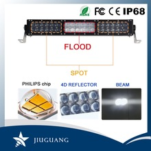 Dual row IP 68 approved 252w 4d 20 inch offroad led light bar