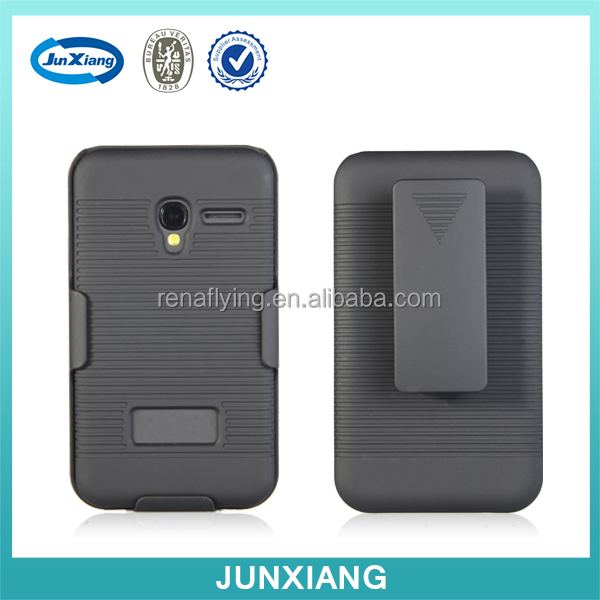 Alibaba china holster combo case for alcatel pixi 3 3.5