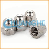 Alibaba China fastener brass barrel nuts and bolts/cap nut